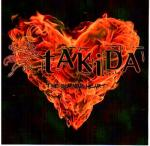 Cover for Takida - The Burning Heart