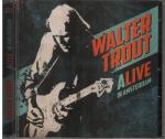 Cover for Walter Trout - Alive In Amsterdam  (2CD)