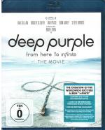 Cover for Deep Purple - From Here To Infinite (The Movie Blu-ray)