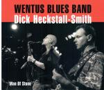 Cover for Wentus Blues Band + Dick Heckstall-Smith - Man Of Stone  (Digi)