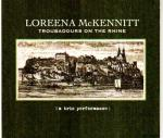 Cover for McKennitt Loreena - Troubadours On The Rhine